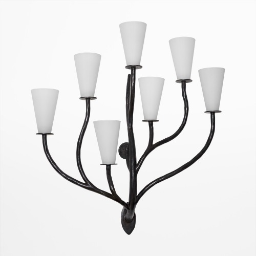 7 BRANCHES Wall sconce